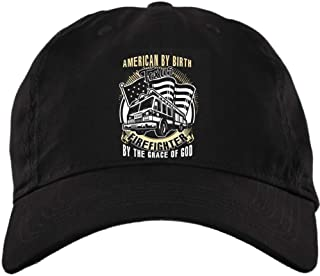 COLOSTORE The Grace of God Hat, American by Birth Twill Dad Cap