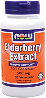 Now Foods Elderberry Extract - 500 Mg - 60 Vcaps