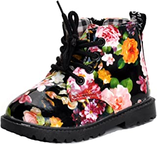 800835d092e3 MK MATT KEELY Girls Boys Martin Boots Ankle Fashion Boots Princess Party  Shoes High Top (