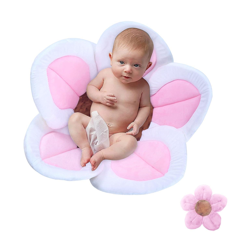 Popular brand in the world Baby Bath Flower Soft Cushion Non-Slip Insert Safety Cr Sink specialty shop Tub