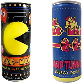Pac-Man Energy Drink 4 Packs (2 Flavor Combo Pack)
