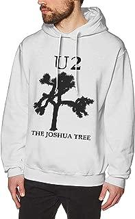 Men's Hoodie Sweatshirt U2 Joshua Tree Leisure Hoodie White Sweatershirt