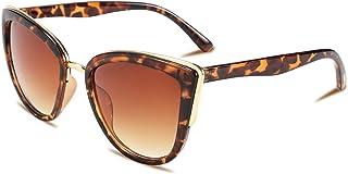FEISEDY Cateye Sunglasses Women Vintage Gradient Cat Eye Female Sun Glasses B2498