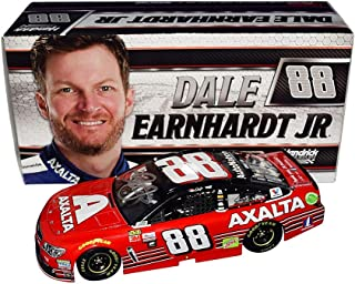 2X AUTOGRAPHED 2017 Dale Earnhardt Jr. & Greg Ives #88 Axalta Racing HOMESTEAD FINAL CAR (Rare QVC Edition) Signed Lionel 1/24 Scale Collectible NASCAR Diecast Car with COA
