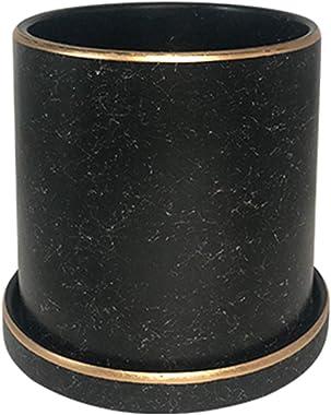 CYQ Pots de Fleurs décoratifs, Pots de Fleurs en céramique contenants de Plantes succulentes Modernes avec Soucoupe de Trou d