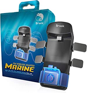 Brook Marine for PS4 マリン ブルック コントローラー 専用 背面ボタン アタッチメント マルチアダプタ 変換 PS3 Switch Android PC MAC iOS 本体対応 マルチプラットフォーム マルチコントローラー LEXISオリジナル 日本語説明書付き 1年保証 正規品