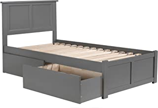 Best twin size captains bed with 3 drawers Reviews