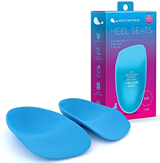 Heel That Pain Heel Seats Foot Orthotic Inserts - Heel Cups Cushions Insoles for Plantar Fasciitis Heel Spurs and Heel Pai...