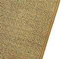 HEVO Salsa Design Sisal Teppich Honig mit klassischer Kettelkante 200 cm Ø Rund - 6