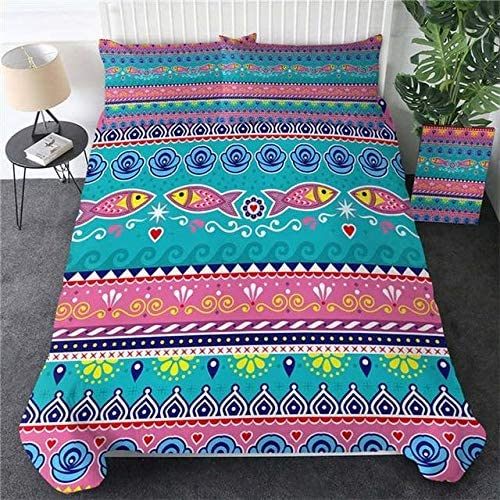 DOAN Fish Aztec Quilt Mesa Mall Bed - for Suitable Set Fort Worth Mall All