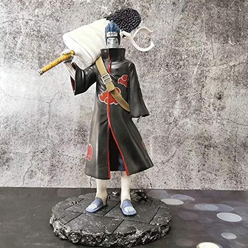 Naruto GK Hoshigaki Kisame 11 Pulgadas Mizuo Posición de pie Anime Carácter Modelo PVC Estatua Estatua Dibujos Animados Juego Figura Toys Colección Objetos