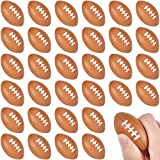 Uogw 36Packs Football Stress Balls, Mini Foam Squeeze Sports Balls for Party Supplies, Kids and Junior Outdoor Family Games