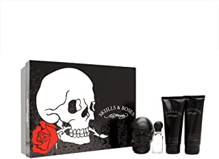 Christian Audigier Ed Hardy Skulls and Roses for Men, Gift Set