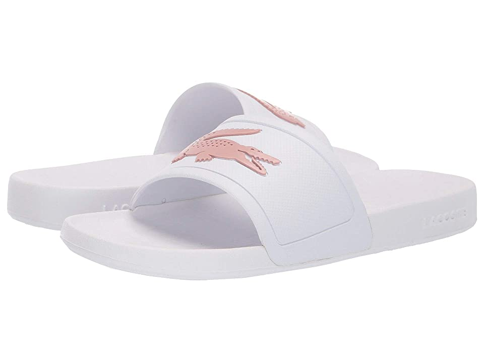 Lacoste Fraisier 119 2 P CFA (White/Light Pink) Women