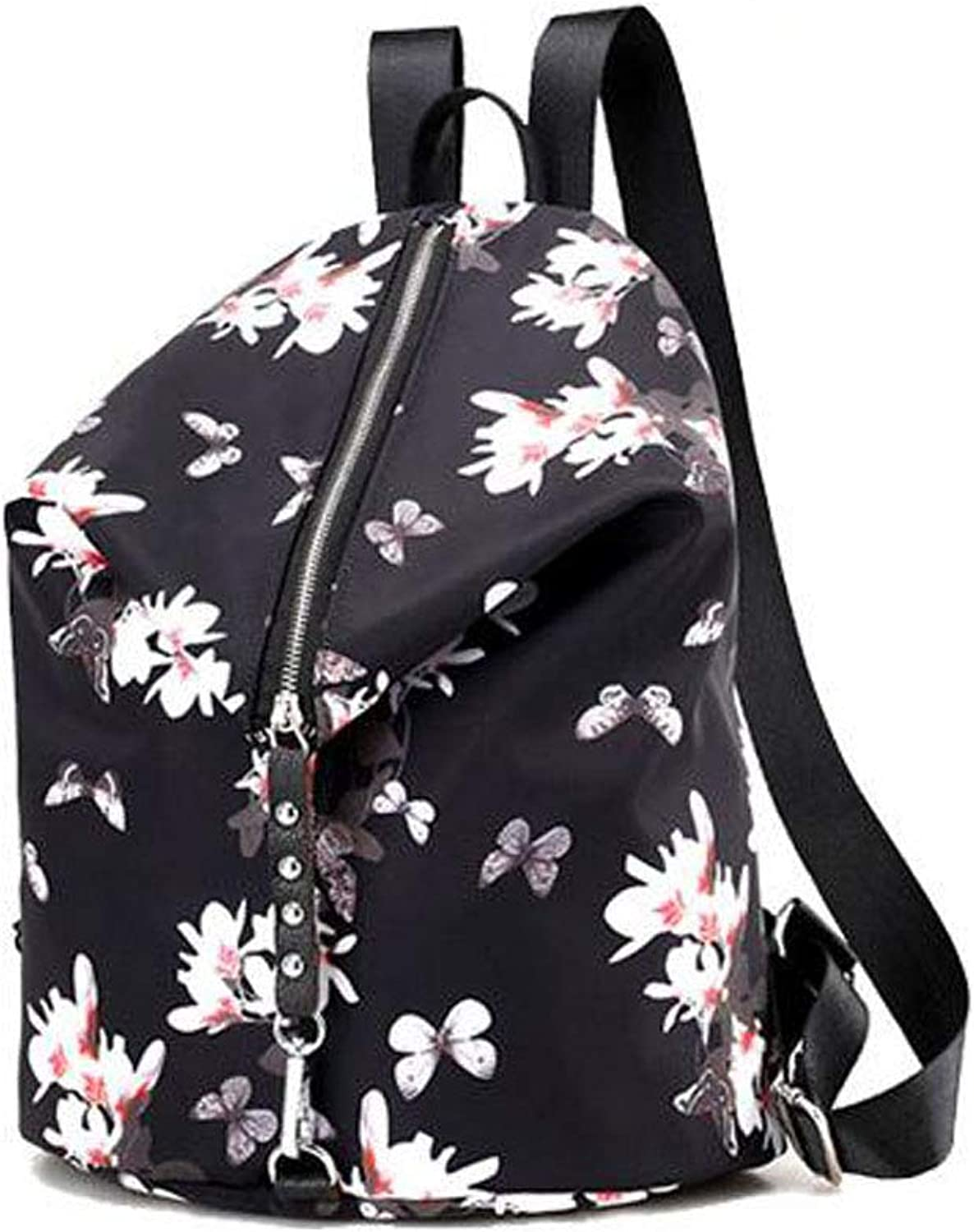 Women's Backpack, Fashion Casual Printing College Shoulder Bag, (Pattern   Style Two)