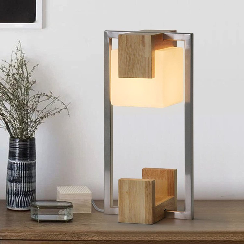 Tischlampe Creative Schlafzimmer Wohnzimmer Einfache Eisen Glas Lampe B072BL4JJD | Gutes Design