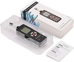 Elviray Termómetro Digital LCD Higrómetro Medidor de Temperatura y Humedad Psicrómetro Detector de Temperatura de Punto de rocío de Bulbo húmedo