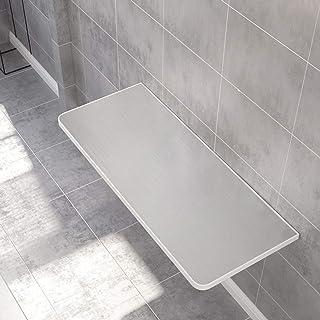 Bureau Table Murale Rabattable,Table Murale Rabattable avec Deux Supports Petite table pliante murale à suspendre