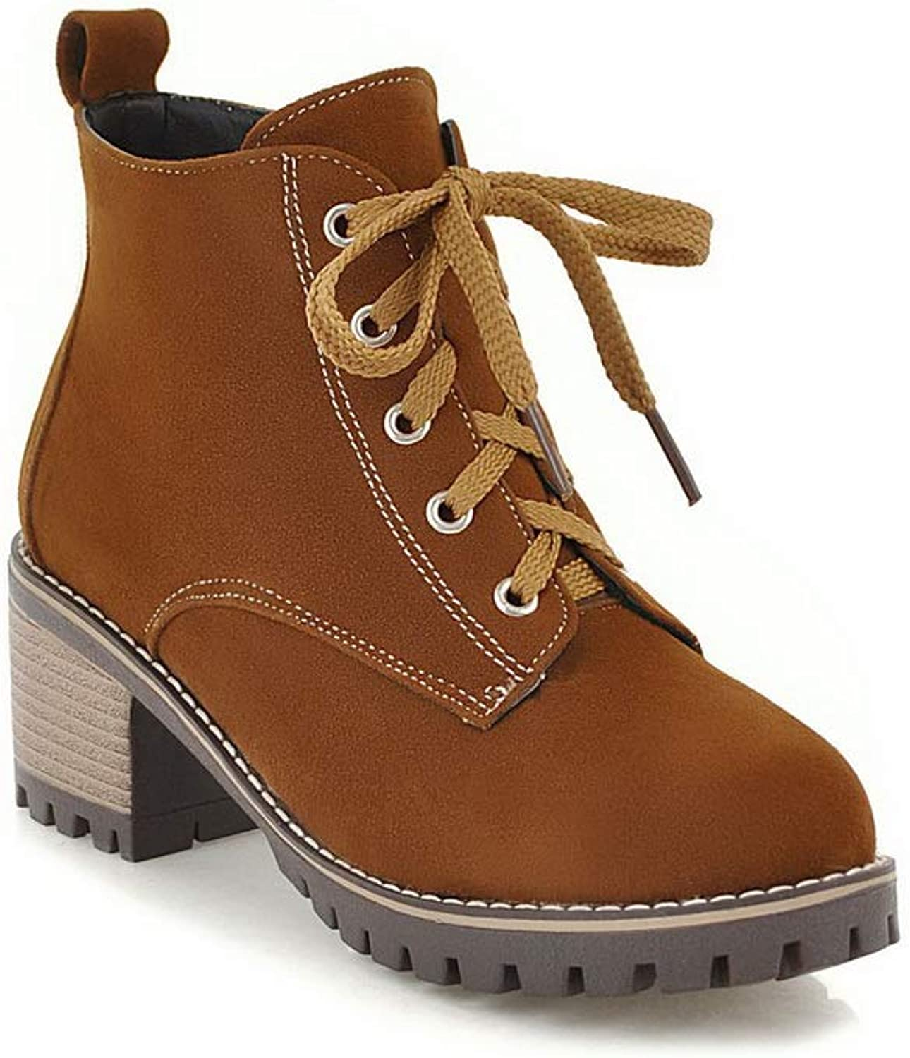 AdeeSu Womens Ruched Solid Boots Urethane Boots SXC02796