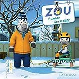 Zou s'amuse dans la neige