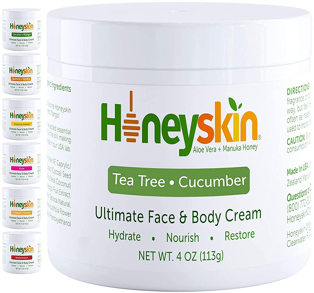 Manuka Honey Cream Face Moisturizer and Eczema Ranking TOP3 - Hon Challenge the lowest price of Japan Lotion Body