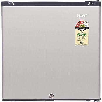 Haier 52 L 3 Star ( 2019 ) Direct Cool Single Door Refrigerator(HR-62VS, Silver)