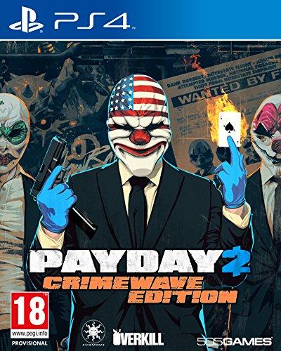 Ps4 Payday 2 : Crimewave Edition (Eu)
