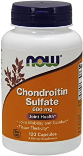 NOW Foods Chondroitin Sulfate 600mg 120 Capsules