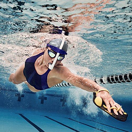 Speedo Unisex-Adult Swim Training Snorkel Bullet Head , Shocking Lime