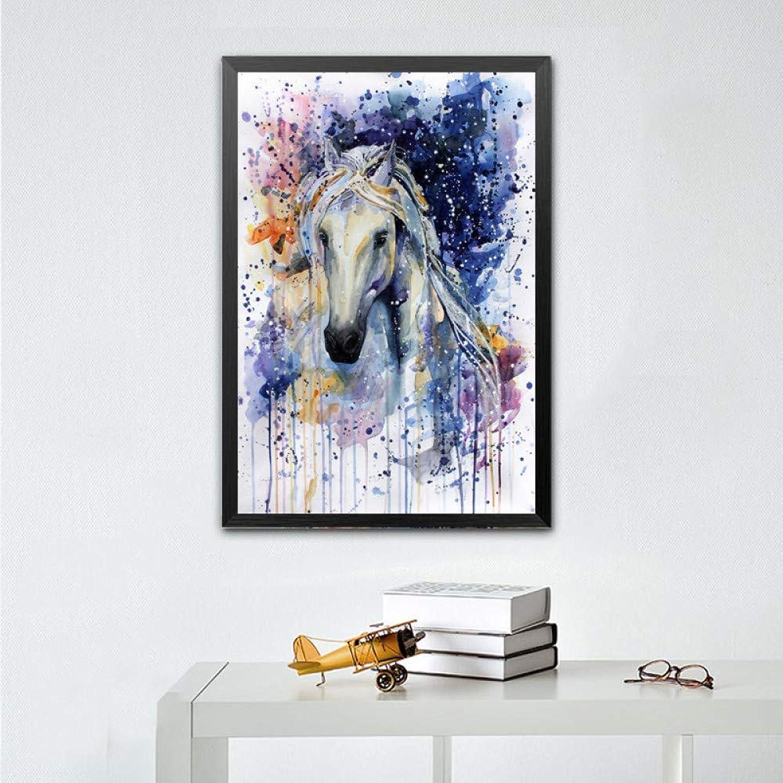 ¡envío gratis! JAG Imagen de Arte de Parojo Lienzo Pintura al al al óleo impresión para Sala de EEstrella decoración del hogar el acuarelado sin Marco  barato
