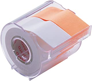 ヤマト 付箋 メモック ロールテープカッター付き 25mm×10m R-25CH-WO 白・オレンジ