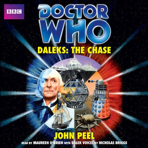 Doctor Who: Daleks - The Chase audiobook cover art