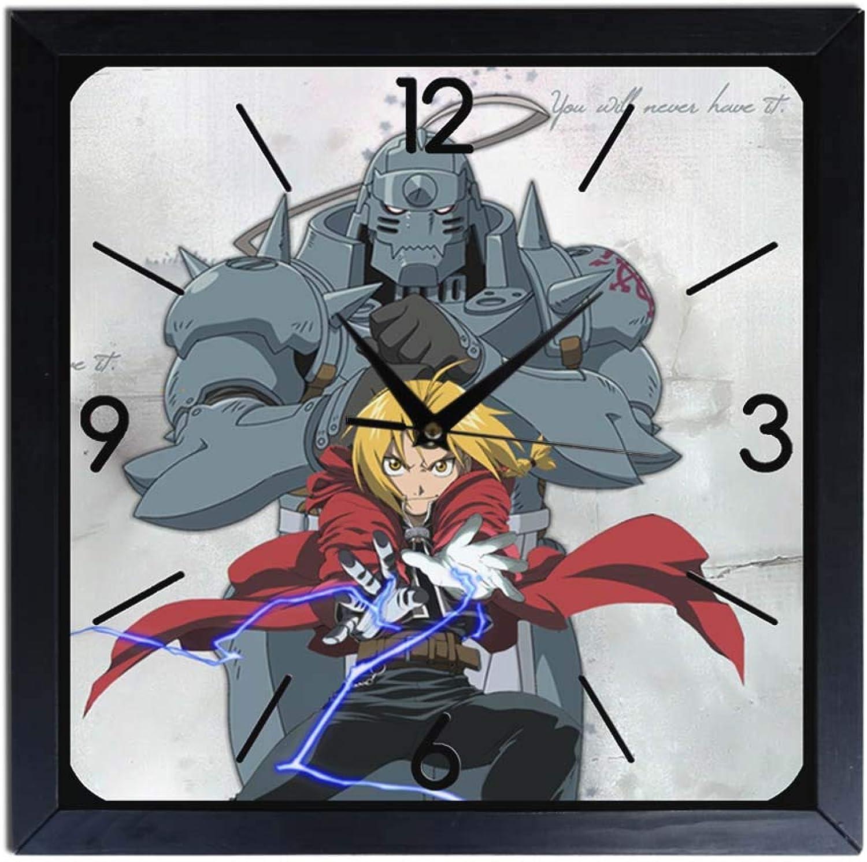 nuevo sádico Reloj de parojo parojo parojo de madera Full Metal Alchemist  venta con alto descuento
