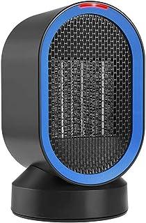 HealHeaters 600W Calefactor Eléctrico Cerámico Oscilación Automática Viento Caliente Y Natural Calentador Portátil para El Hogar Y La Oficina, Protección contra Vuelcos por Sobrecalentamiento
