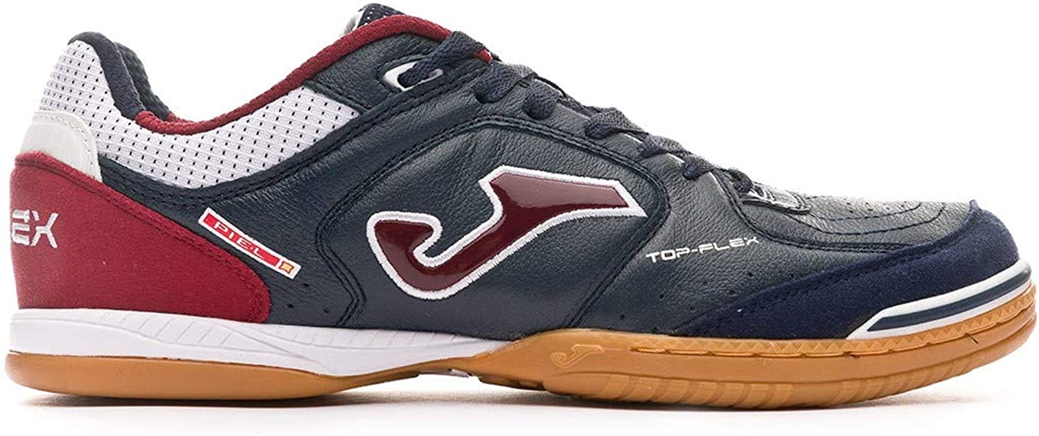 Joma Football shoes TOP Flex Indoor 933 Navy-RED Calcetto Scarpa
