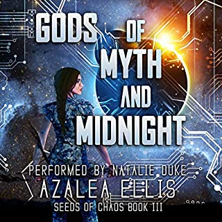 Gods of Myth and Midnight: A GameLit Novel audiobook cover art
