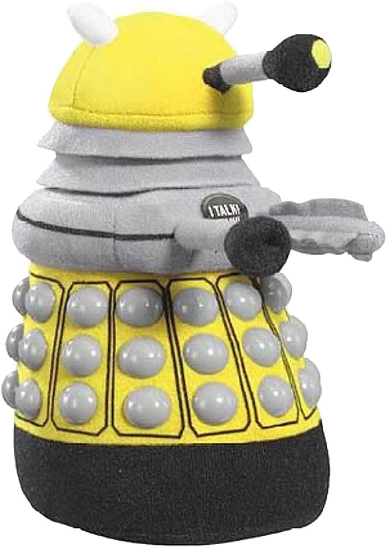 Doctor Who Medium Talking Yellow Dalek Plush