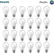 Philips LED 545921 Non-Dimmable A19 Light Bulb: 800-Lumen, 2700-Kelvin, 10 (60 Watt Equivalent), E26 Base, Soft White, 24-Pack, 24 Piece