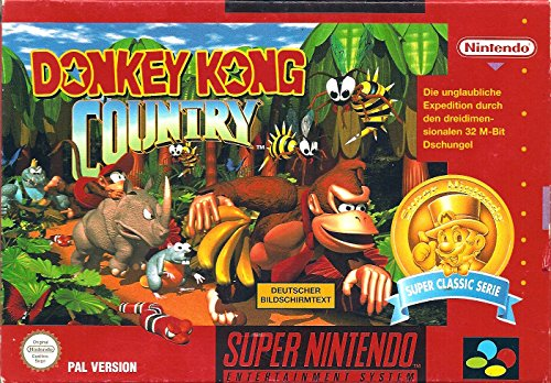 Donkey Kong Country Super Nintendo