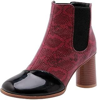 BalaMasa Womens ABS14169 Pu Boots