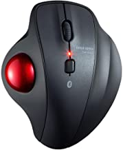SANWA Bluetooth Ergonomic Trackball Mouse, Optical Vertical Rollerball Mice, Silent Buttons, 600/800/1200/1600 Adjustable ...