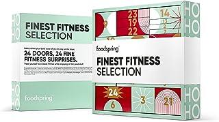 foodspring Adventskalender 2021, Fine Fitness Selection, 1720 g, 24 deurtjes, 24 fijne fitnessverrassingen: voor een fitne...