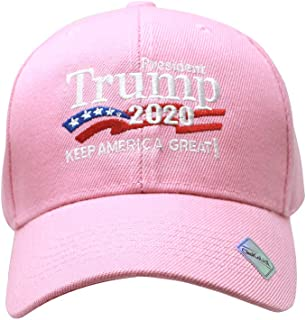 a56c892e0ba ChoKoLids Trump 2020 Keep America Great Campaign Embroidered USA Hat