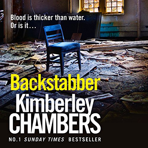 Backstabber audiobook cover art