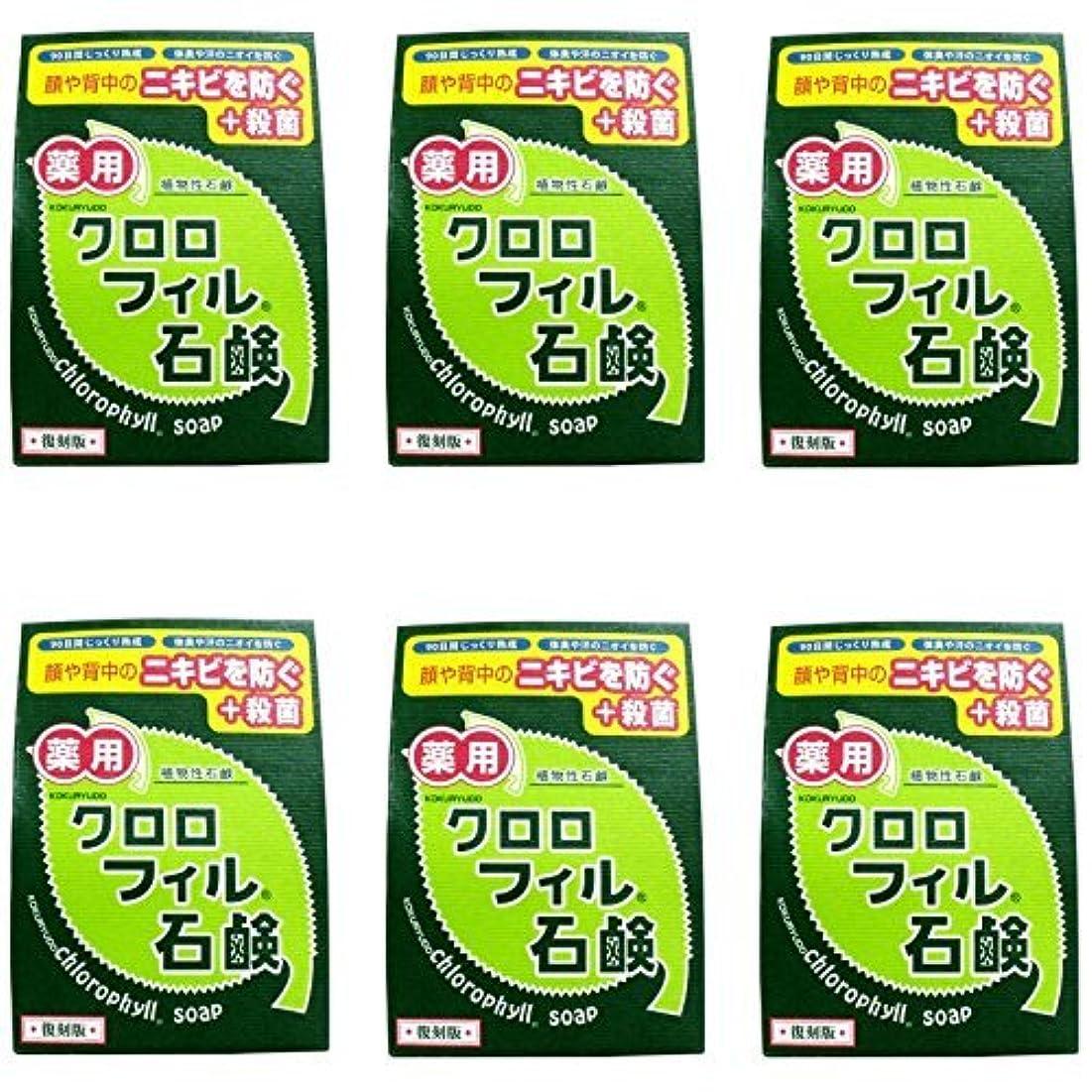 ノーブルバンドネスト【まとめ買い】クロロフィル石鹸 復刻版 85g (医薬部外品)【×6個】