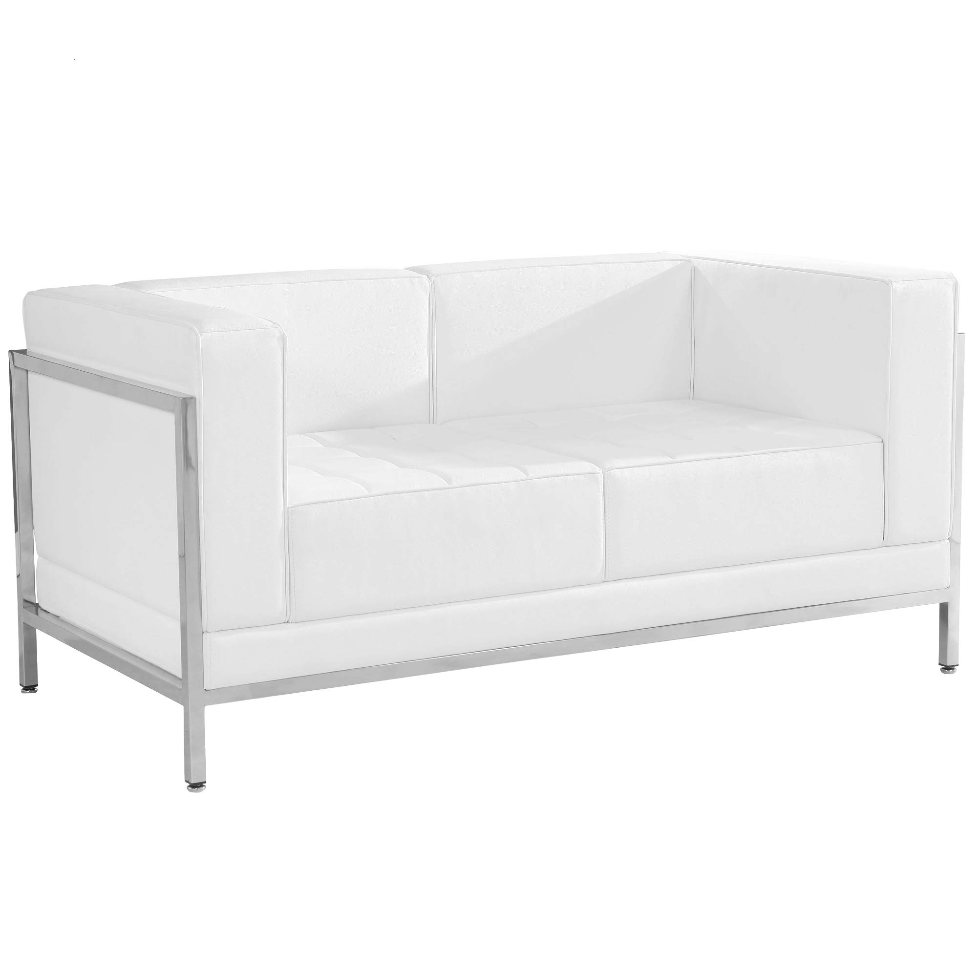 Plata Import Camelia Sofa Bed in Green Velvet Upholstery seat for 3 Persons Living Room Couch Sleeper Sofa Wood Legs