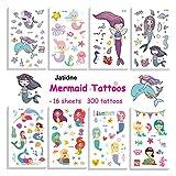 Mermaid Temporary Tattoos for Kids