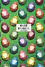 Easter Egg Gemstone Design Habit Tracker: 120 pages for daily habit tracking and organisation - week to page view