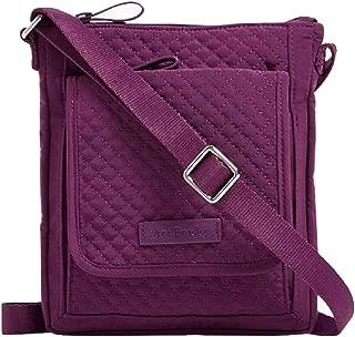 Vera Bradley Iconic RFID Mini Hipster in Gloxinia Purple Microfiber