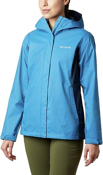Columbia Women's Arcadia Ii Waterproof Breathable Jacket with Packable Hood